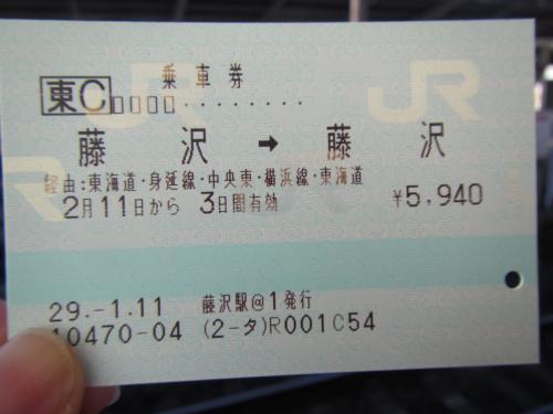 (ほぼ)一筆書きの乗車券を使って、増富温泉へ湯治にお出かけ