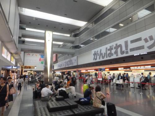 2016 名古屋遠征でサッカー&野球ダブル観戦【その1】中部空港へのフライトと名鉄乗りつぶし