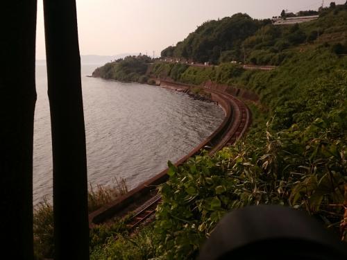 初夏の九州地方(長崎、佐賀)を巡る旅 ~「ななつ星 in 九州」を追いかけて、夕焼けに染まる大村湾を見に訪れてみた~