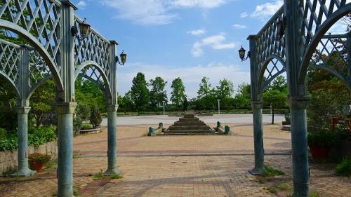 河内長野市訪問(1) 早朝の寺ヶ池公園朝の散策。