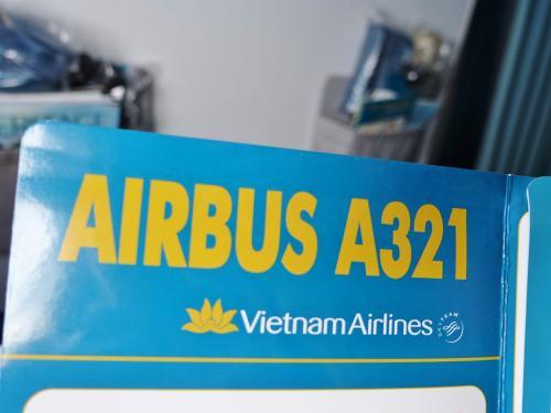 호치민이나 하노이에서 국제선 보잉 신예기이지만, <br /> 다낭 오가는 항공기는 에어 버스가 주력 인 것 같습니다.