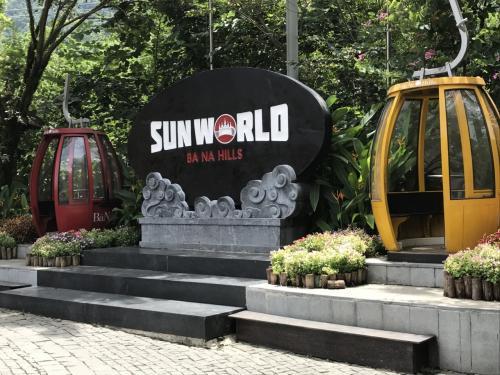 """여기의 운영 회사는 """"SUNWORLD '라는 곳 것 같습니다.  <br /> 다낭의 거리에도 하나 유원지를 경영하고있는 것 같네요."""