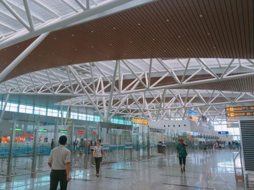 다낭 공항이 예쁘게 커지고 있었다!  !  !