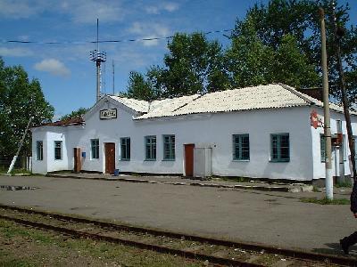 スミルヌイフ駅(旧:気屯駅)