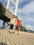 出張同行家族旅行 1 福岡