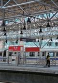 翌日は北投まで地下鉄で移動しました。ここで地下鉄を乗り換えます。台北市内から1時間もあれば到着する手軽さが魅力です。