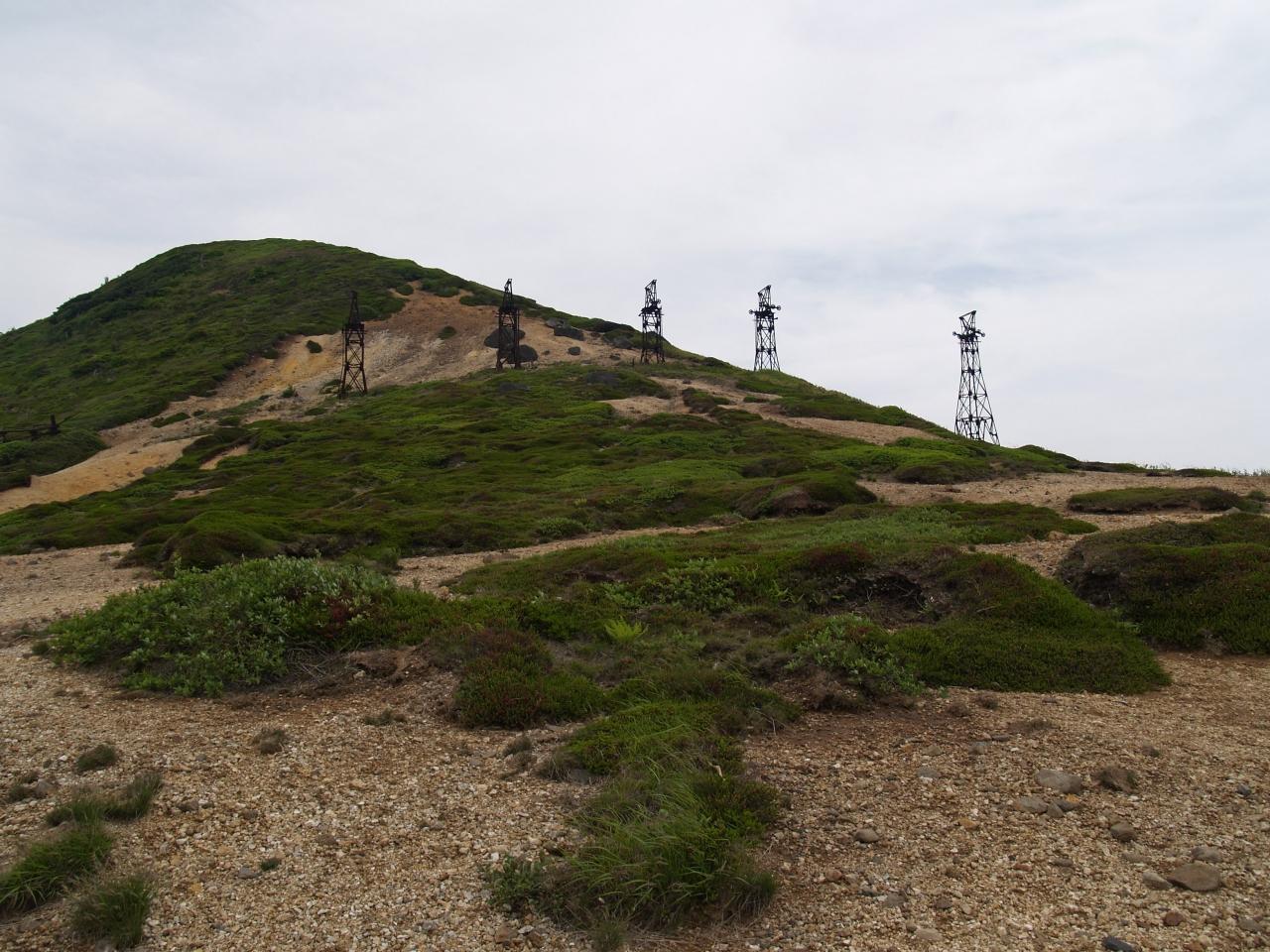 天空のゴーストタウン 小串硫黄鉱山跡を訪ねて