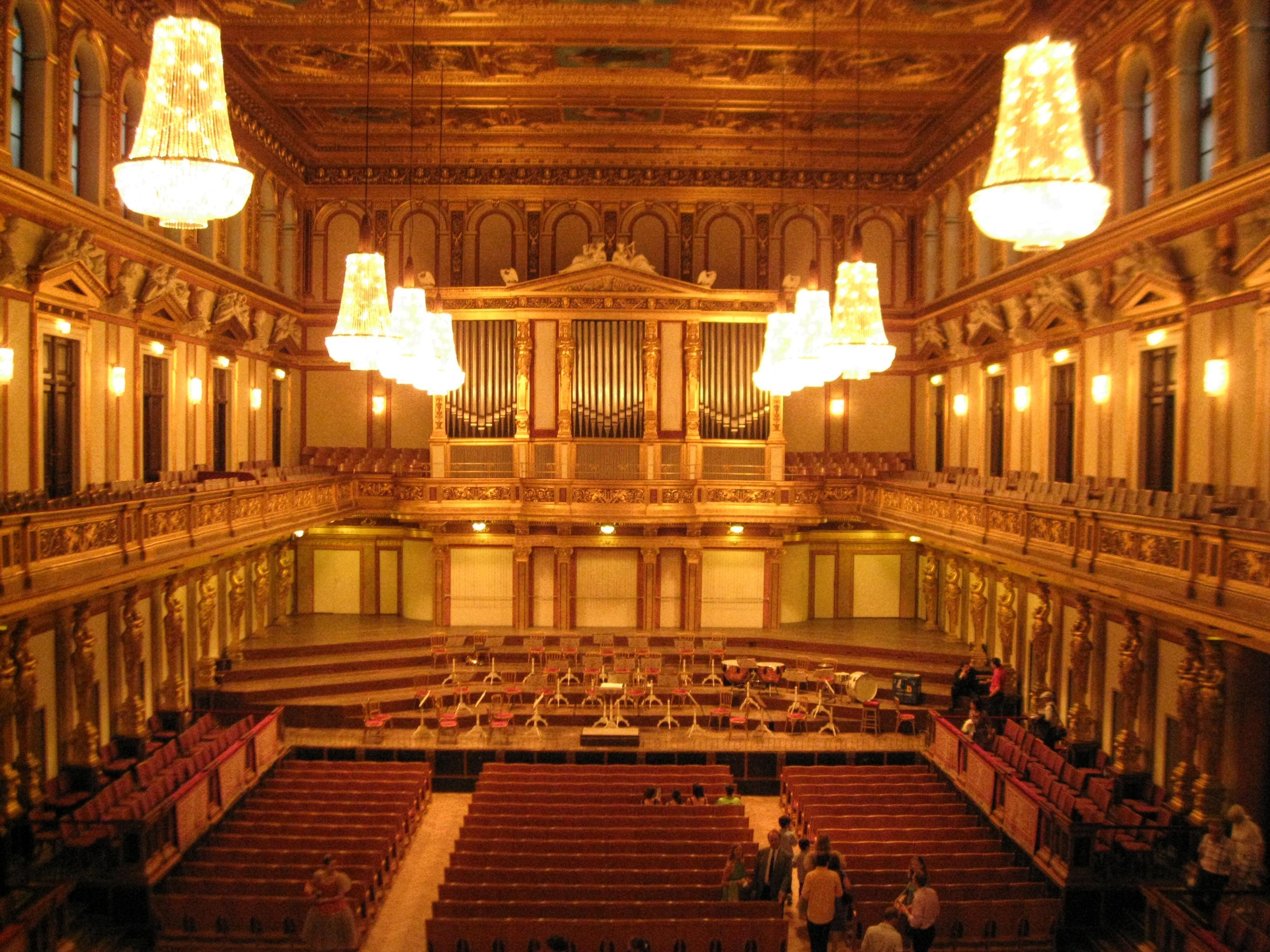トラムでたどったプラハ~ウィーン④ウィーン 楽友協会コンサート