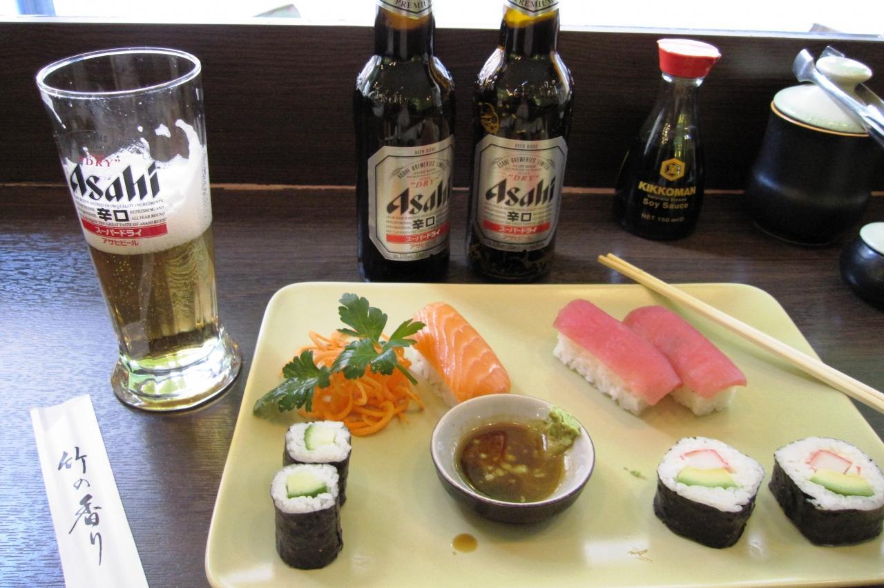 お寿司のセットを注文しました ...
