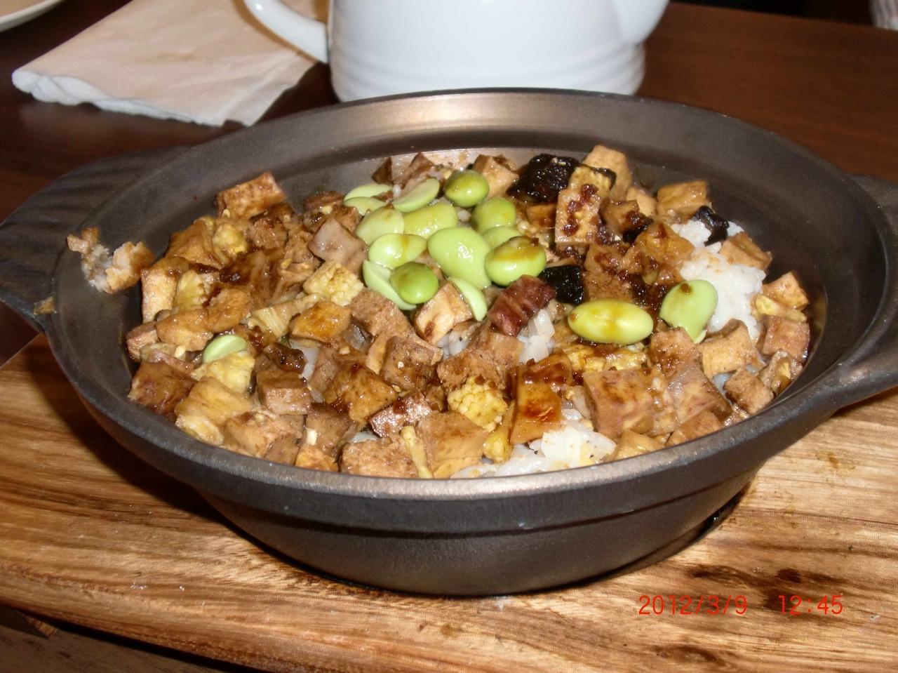110回目の台湾旅行・佛光山の中で食事する③