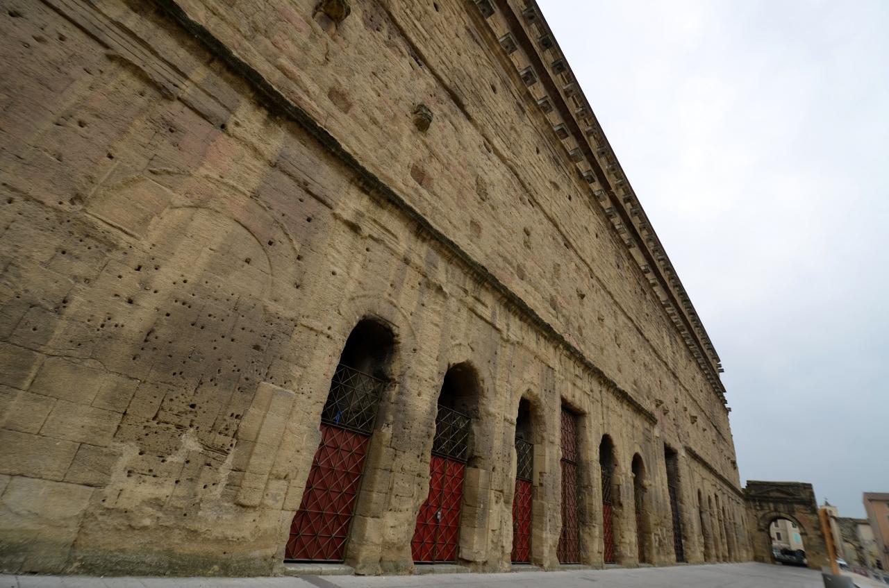 南仏ローマ遺跡をめぐる旅 【2】オランジュの古代劇場とニームの闘技場