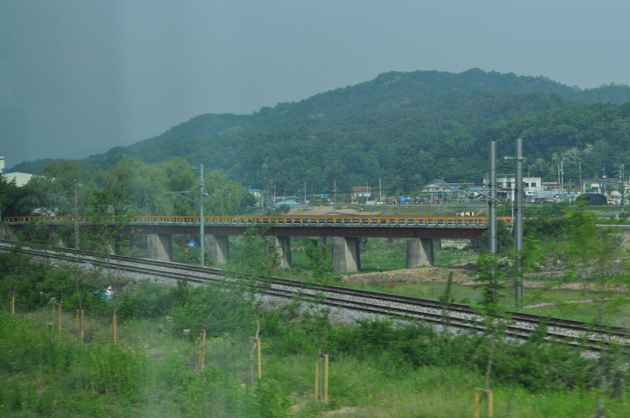 2012年5月韓国鉄道旅行5(忠北線ヌリロ号)