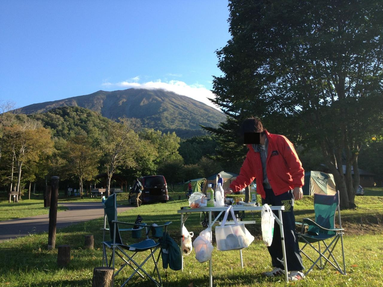 【羊蹄山自然公園キャンプ場】洞爺湖~羊蹄山~洞爺湖
