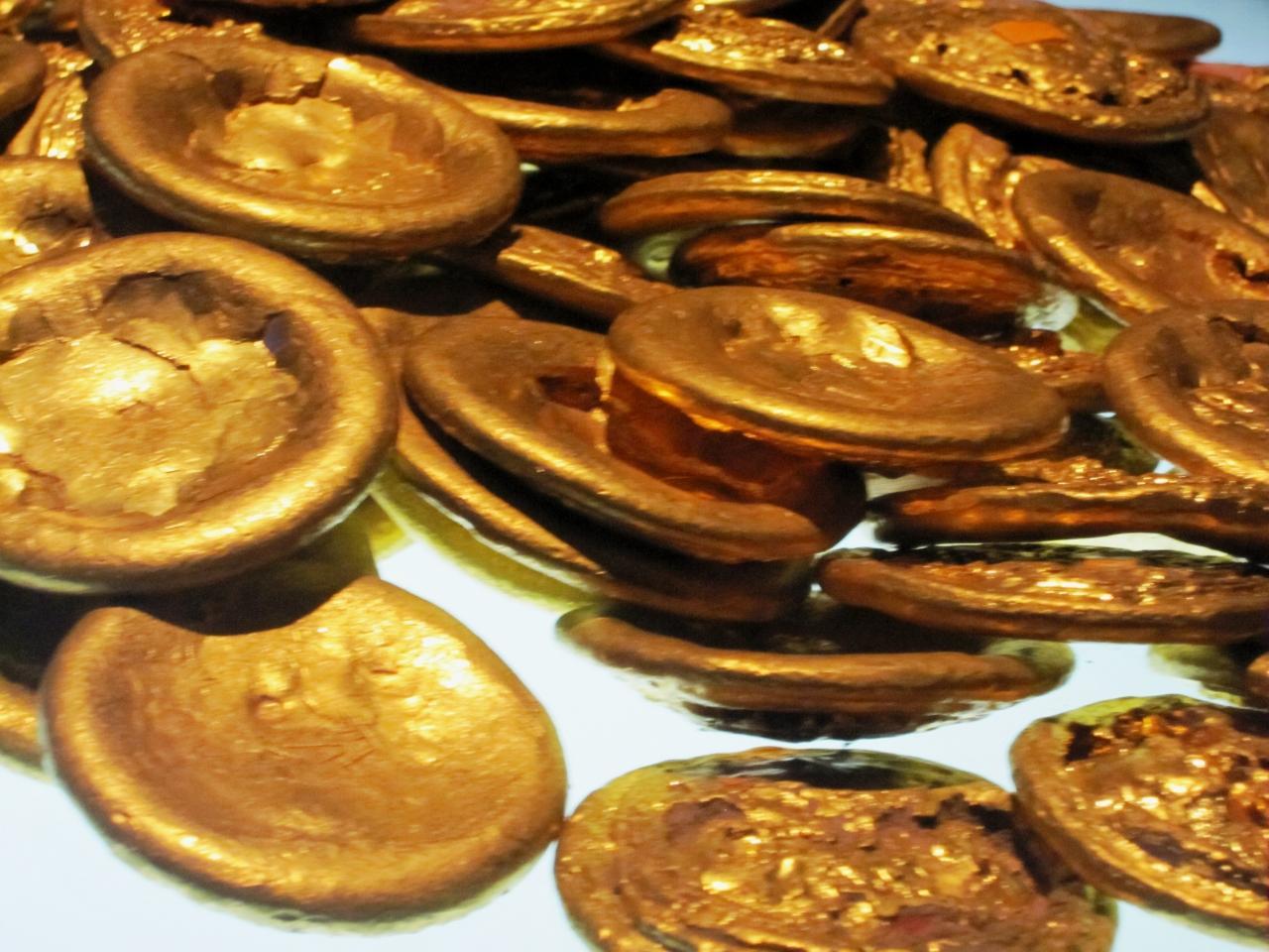 2011暮、中国旅行記21(27:補遺3/4)陝西歴史博物館(3):金製品、青銅器