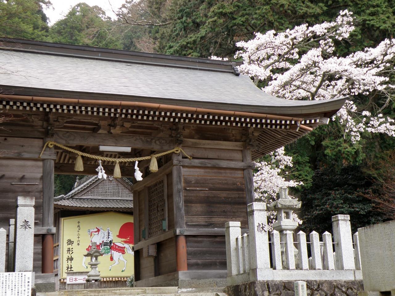 兵庫桜紀行 2014 その4 御形神社...