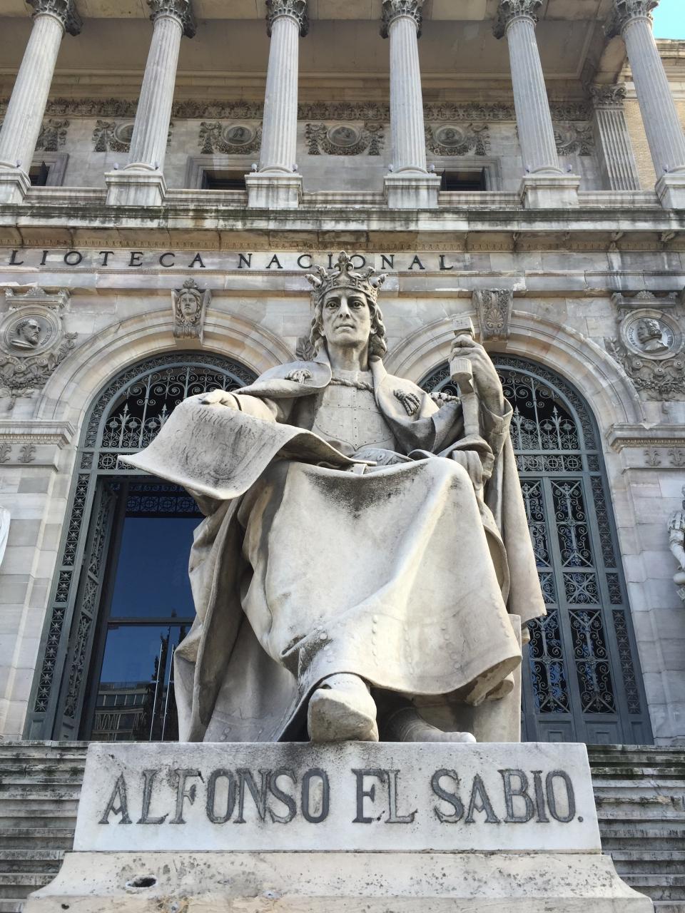 【スペイン国立図書館ミュージアム - Museo de la Biblioteca Nacional】