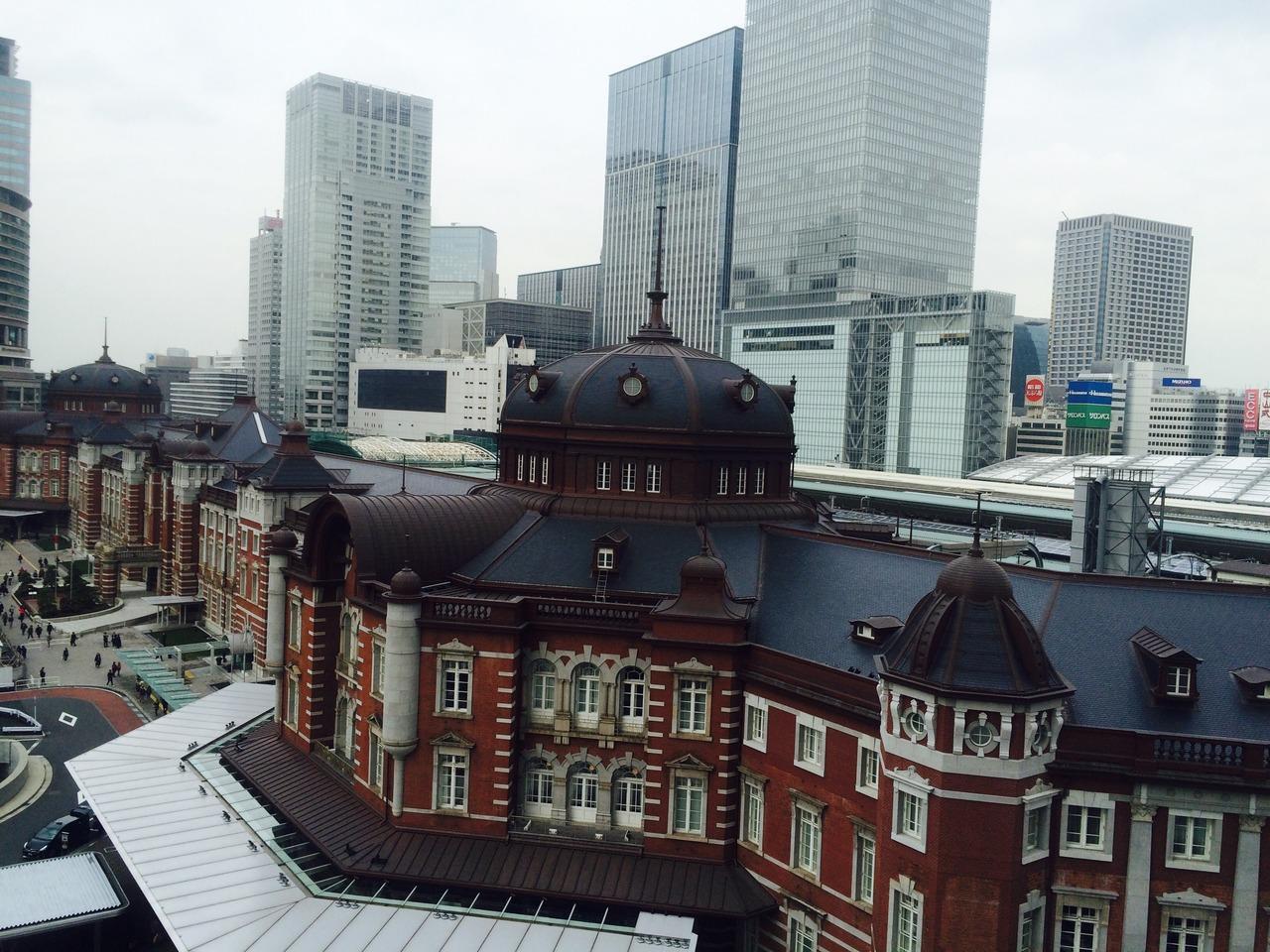 お上りさんの東京駅