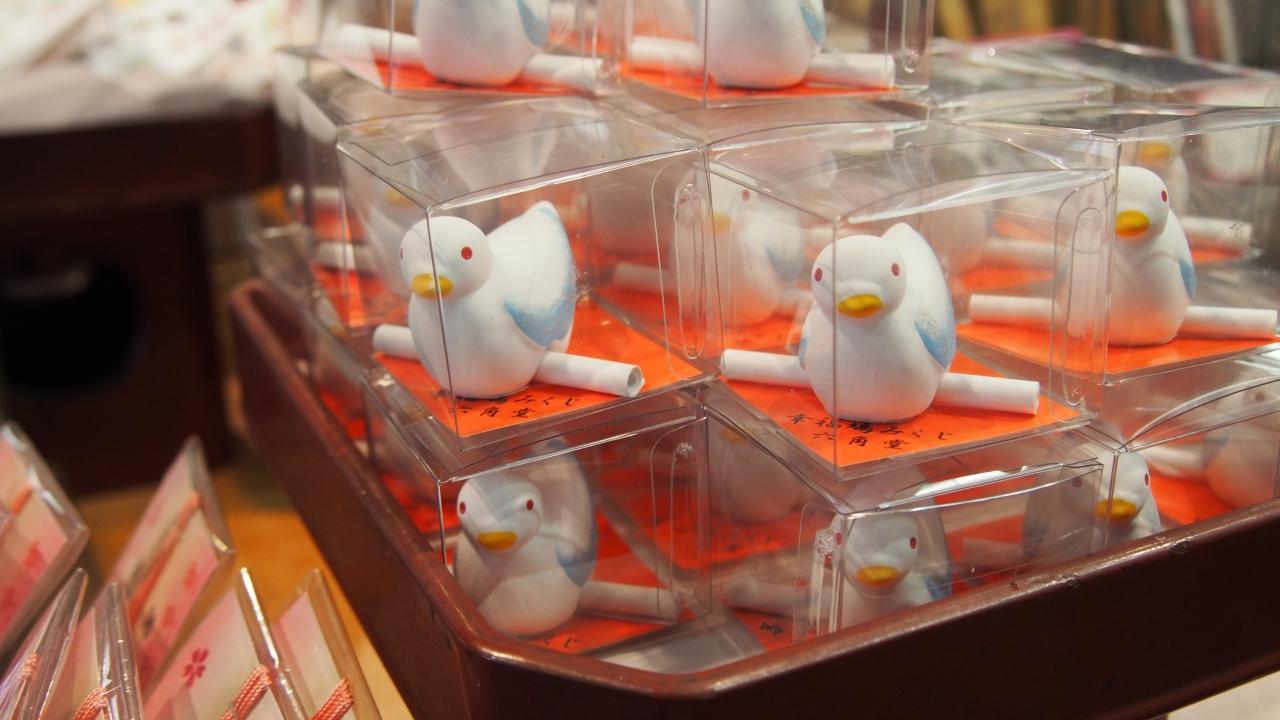 「六角堂 鳩みくじ」の画像検索結果