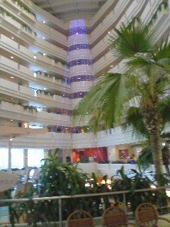 リゾート感あるホテル