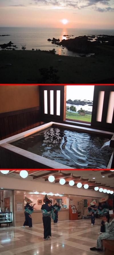 ホテル吾妻−露天風呂付客室あり・日本海に沈む夕日がキレイ