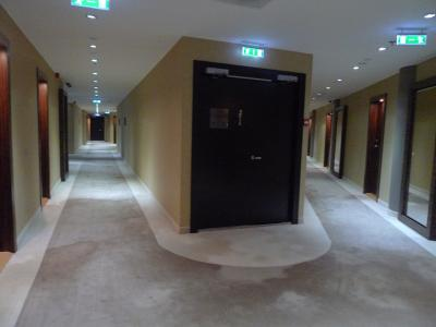 ふかふかな廊下