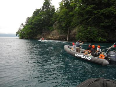 グリランド 十和田湖ボートアドベンチャー