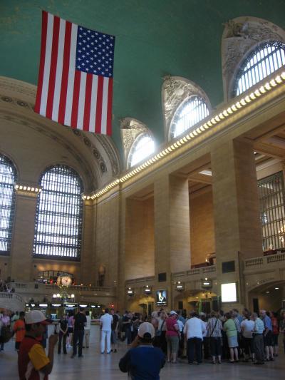 ニューヨークの中心駅です