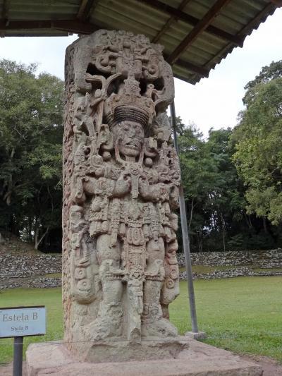 コパンのマヤ遺跡