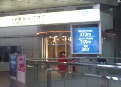 横浜ランドマークタワー69F展望フロア スカイガーデン