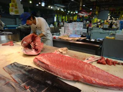 とれとれ市場鮮魚コーナー