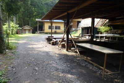 境渓谷キャンプ場