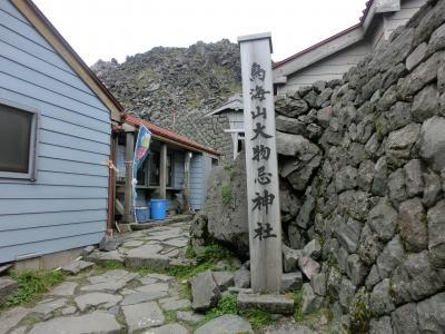 山頂御室小屋