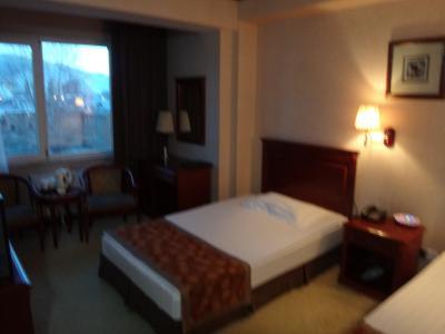 ハブ ホテル 写真