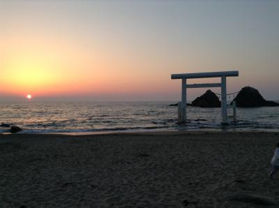 桜井二見ケ浦の夫婦岩