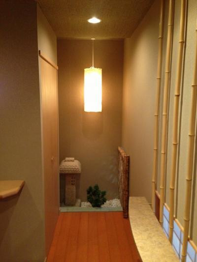 VIPルーム内の廊下です