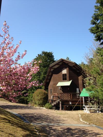近江富士花緑公園 ロッジ