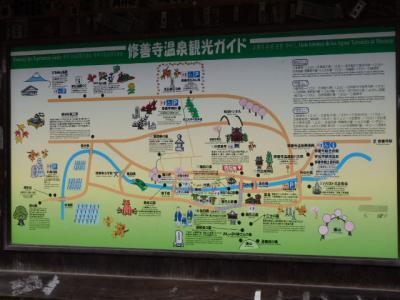 修善寺温泉の新井旅館(あらいりょかん)周辺
