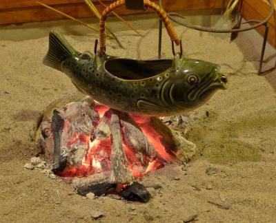 南会津 木賊温泉 囲炉裏の宿 イワナ福本屋
