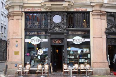 ライプツィヒのカフェ・カンドラー