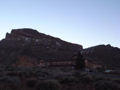 テイデ山に登るならこのホテル!2つ星パラドール