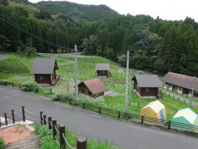 住吉池公園 キャンプ村