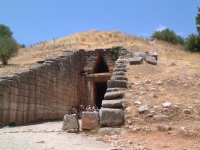 ミケーネの古代遺跡