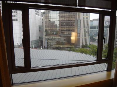 6階の部屋だったので眺望はそれなり