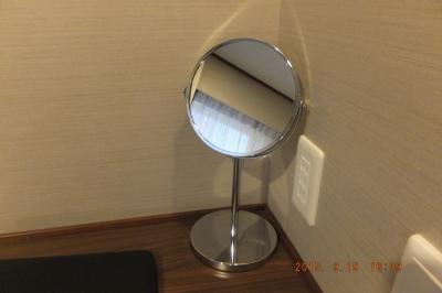 拡大鏡が設置されていました