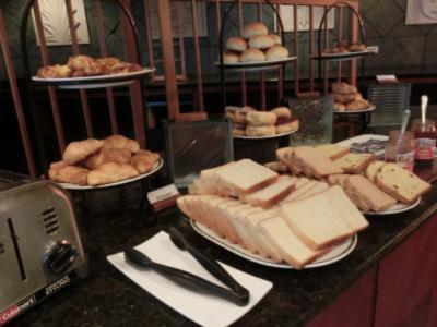 朝食は、まぁまぁ。
