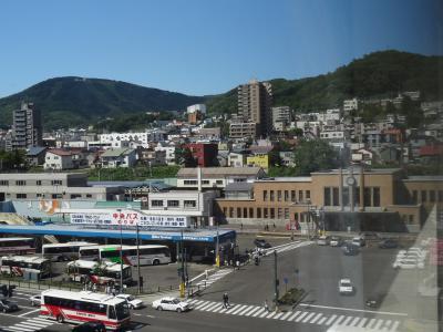 小樽駅・バスターミナルは目の前の好立地!