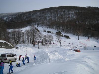 横向温泉スキー場