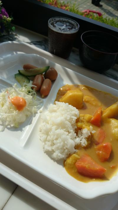 韓国風カレーが朝食に