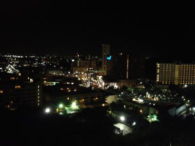 ベランダからの夜景