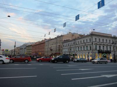 ネフスキー大通り(Nevsky Prospekt (Nevsky Avenue))